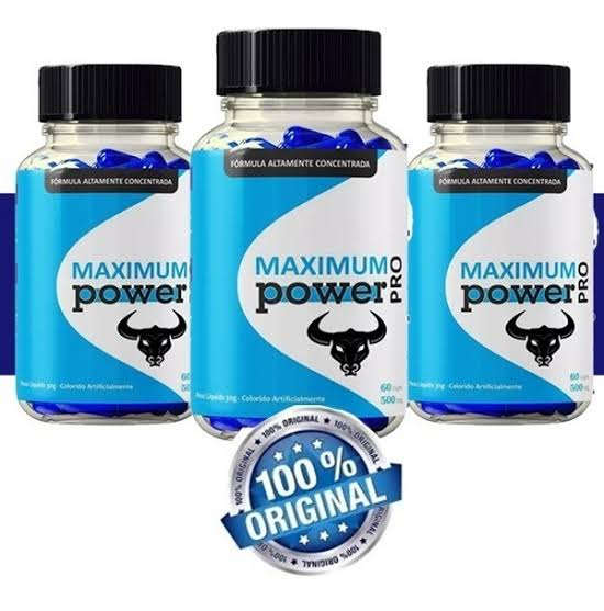 Maximum Power Pro Funciona? Onde Comprar? Bula? Vale a Pena?